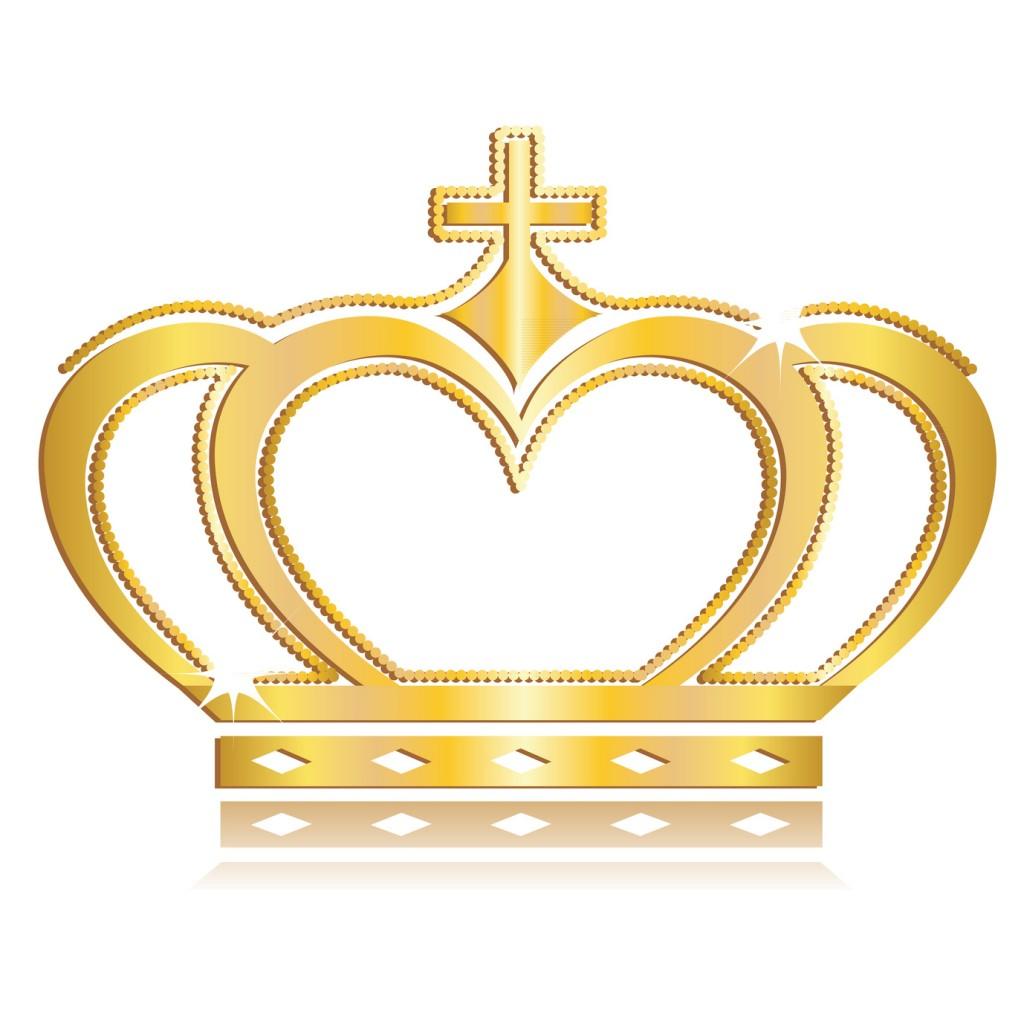 Krone Königlich Gold
