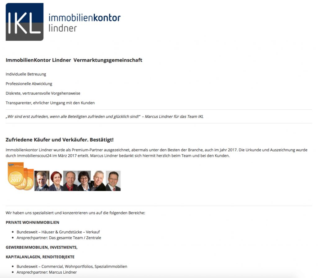 ImmobilienKontor Lindner